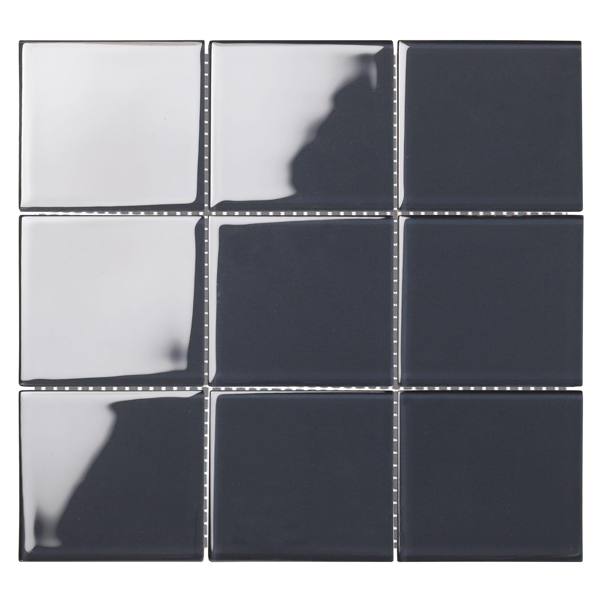9898CR9060 - Dark Marine-GLASS TILE